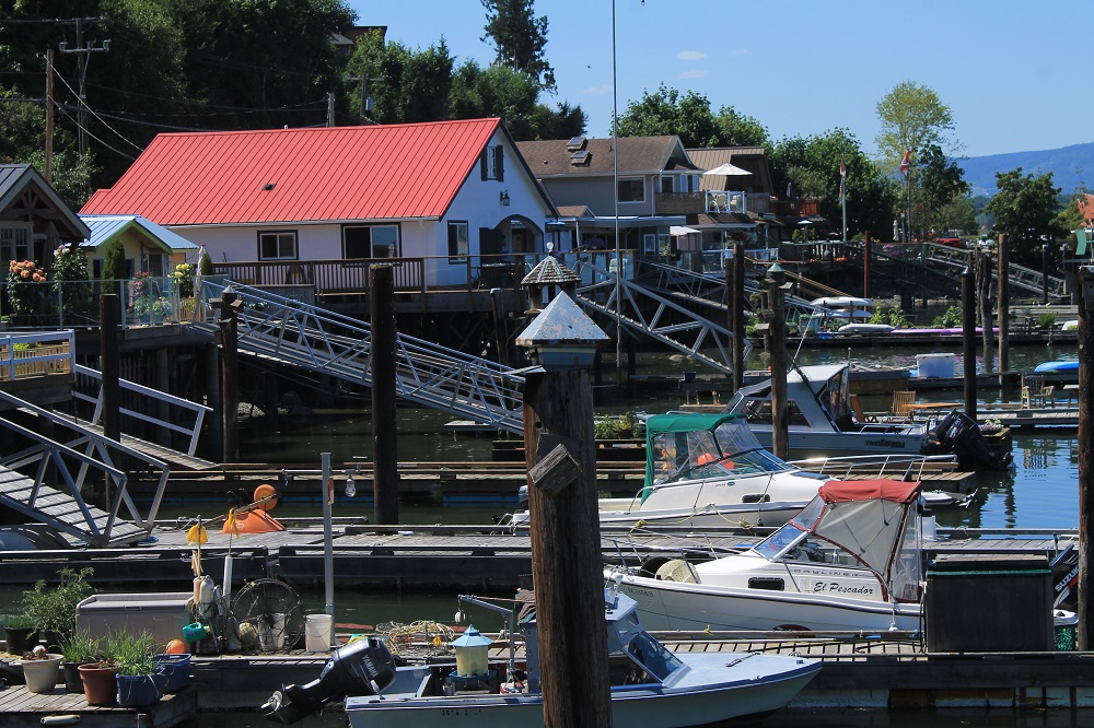 Cowichan Bay Is Located On The End Of Vancouver Island