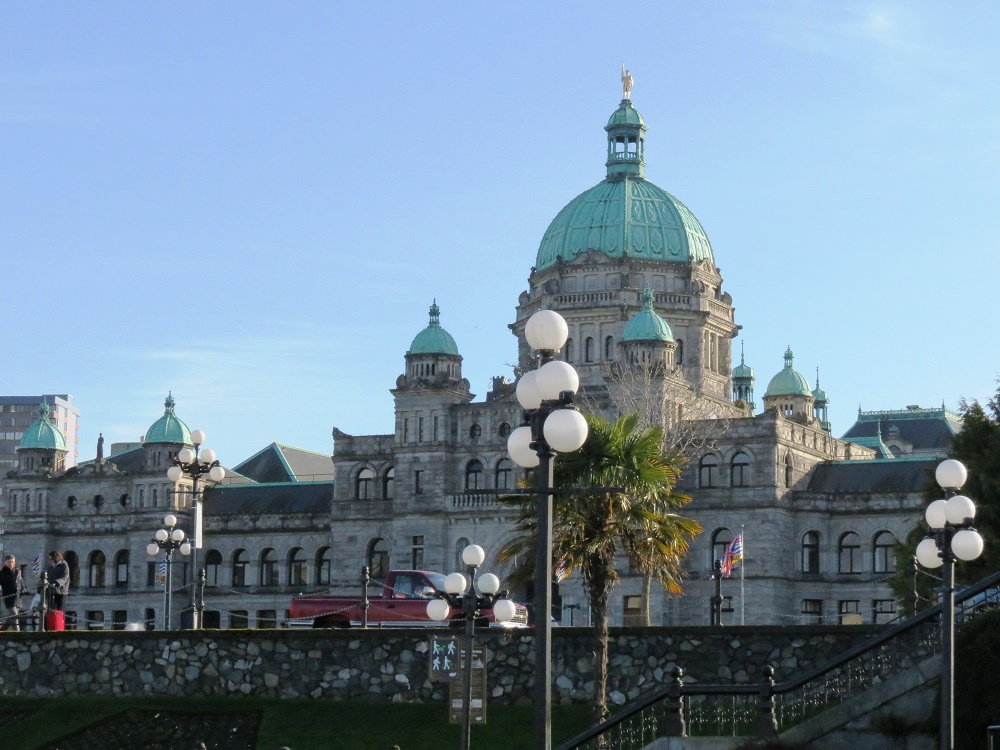 Victoria Is Located On Very South End Of Vancouver Island, BC