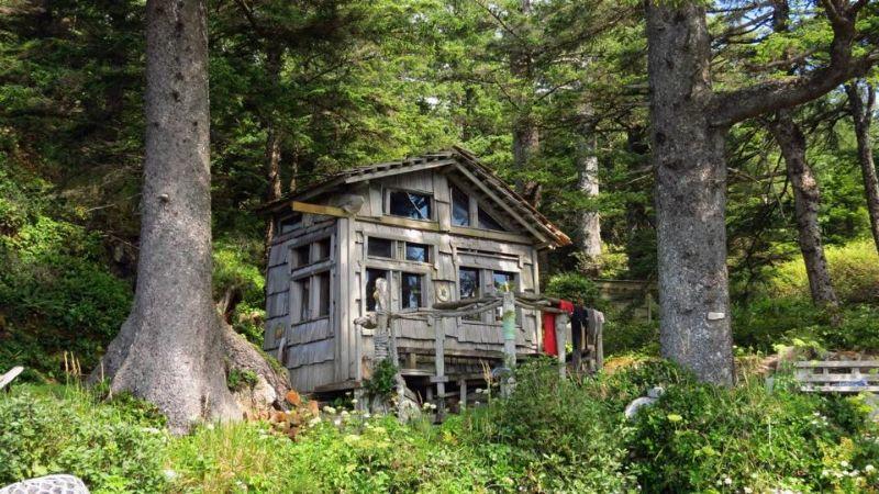 Cape Palmerston Cabin, Vancouver Island, BC