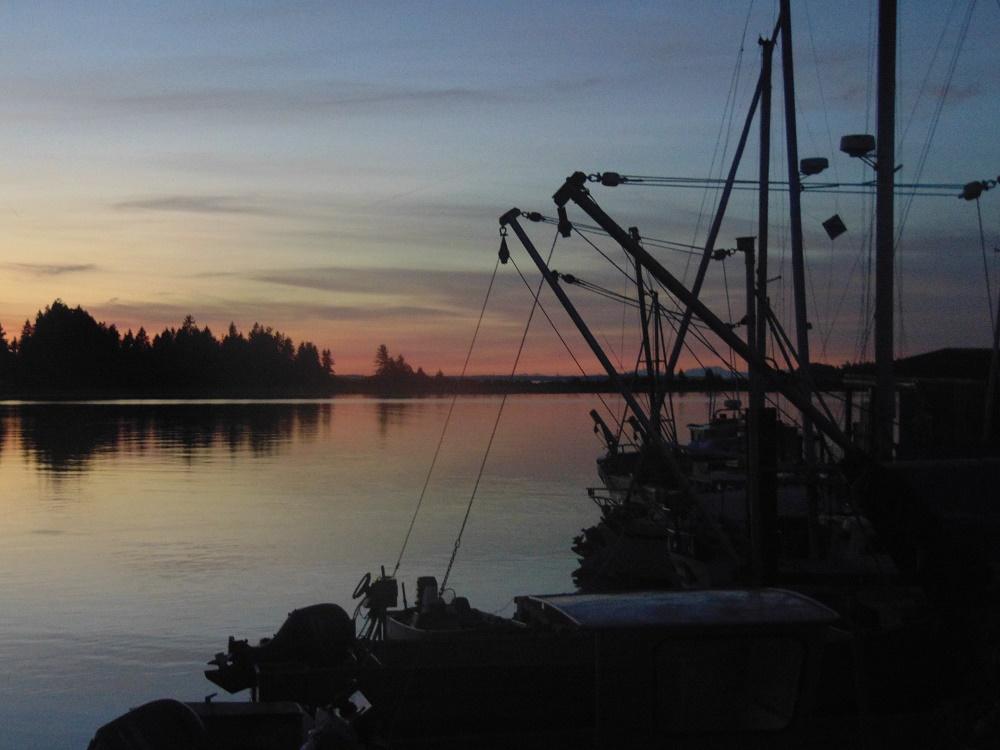 Fanny Bay Sunset