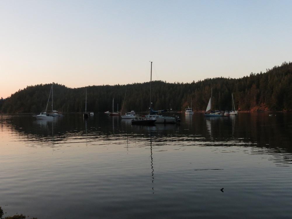 Squirrel Cove, Cortes Island, Pacific Northwest