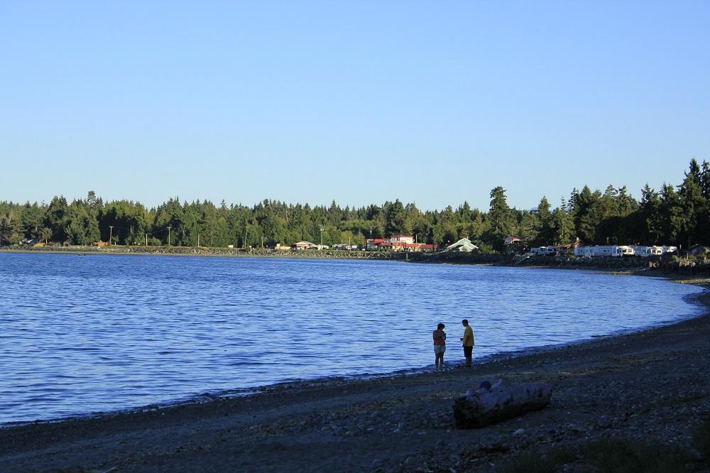 Qualicum Bay Beach, Vancouver Island