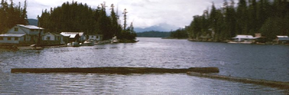 Scott Cove, Gilford Island, Pacific Northwest