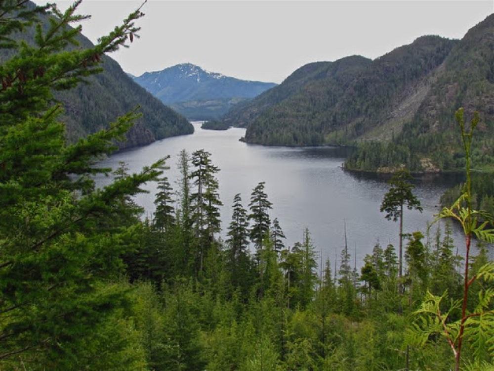 Atluck Lake, Vancouver Island, BC Coastal Region