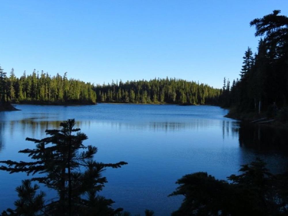 Battleship Lake, Vancouver Island, Pacific Northwest