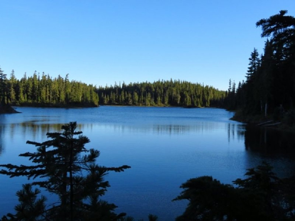 Battleship Lake, Vancouver Island, Pacific Northwest