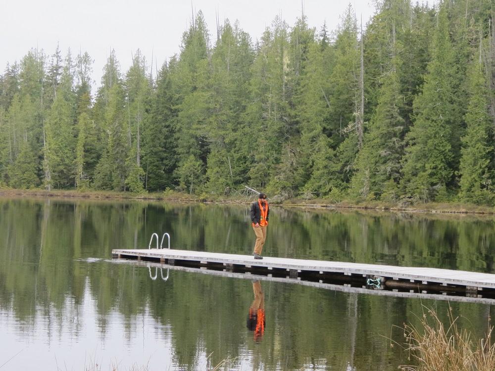 Beaver Lake, Port Alice, Vancouver Island, BC