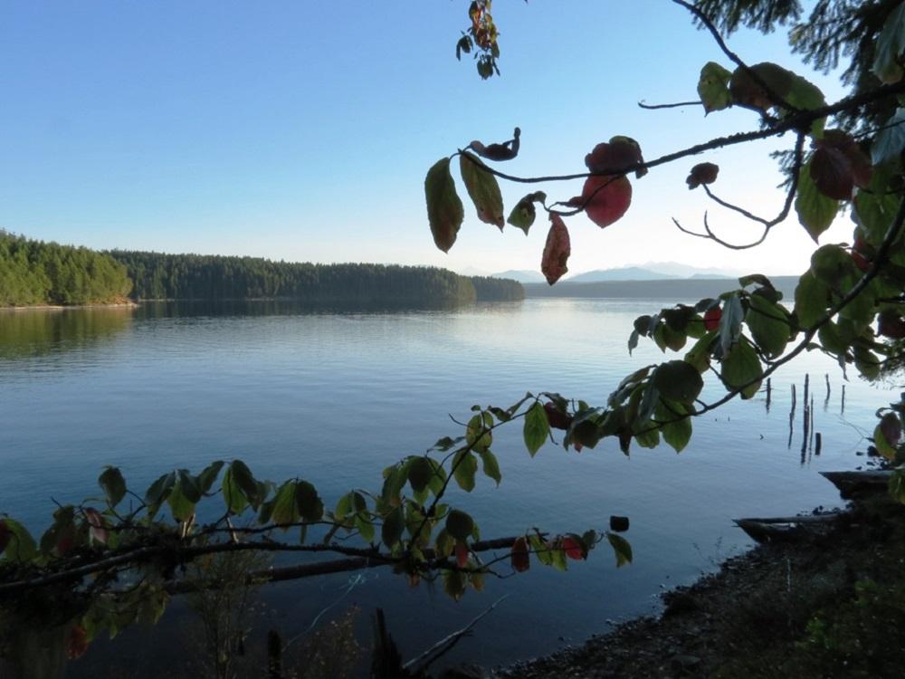 Big Bay, Lower Campbell Lake, Vancouver Island, BC