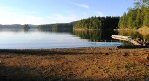 Big Bay, Lower Campbell Lake
