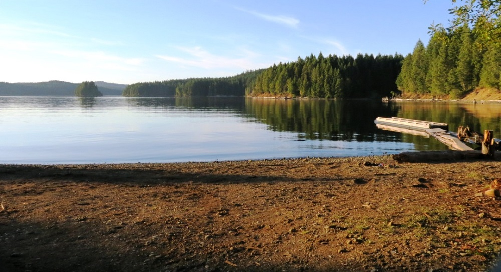 Big Bay, Lower Campbell Lake, Vancouver Island, BC