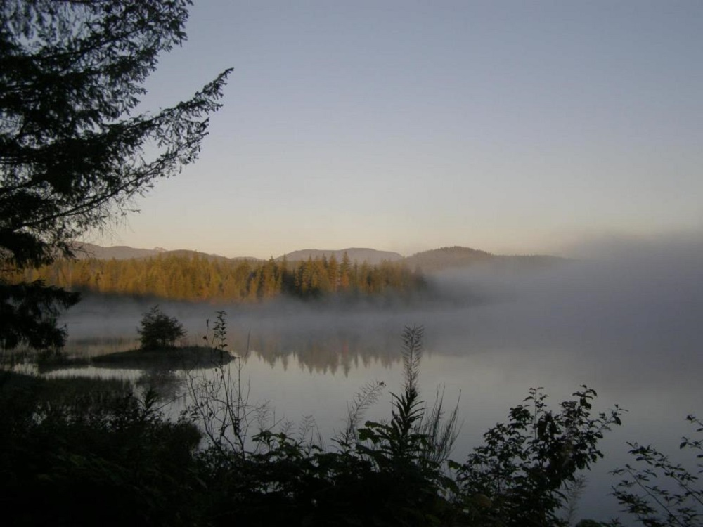 Snakehead Lake, Vancouver Island, Pacific Northwest