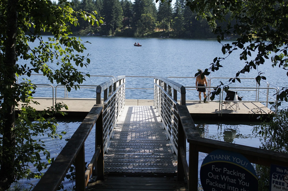 Fuller Lake, Vancouver Island, Pacific Northwest