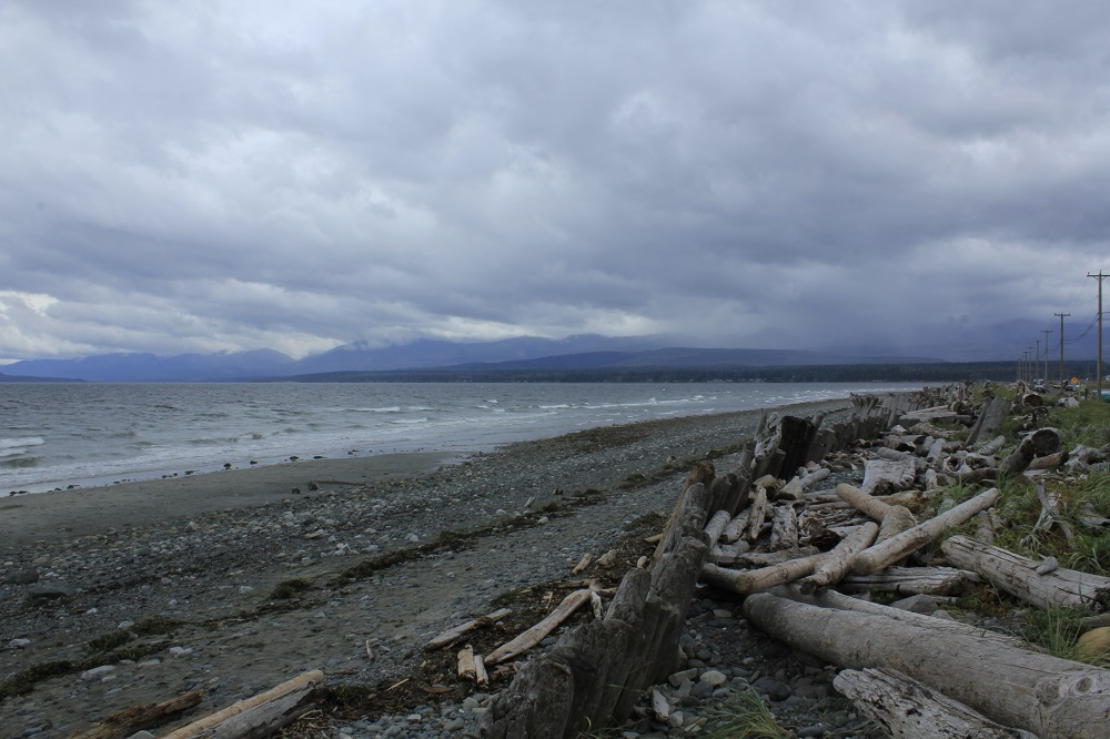 Goose Spit Beach, Vancouver Island, BC