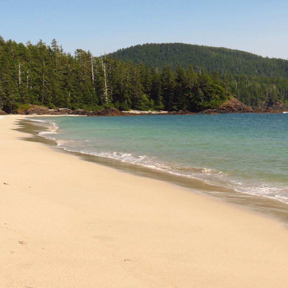 Grant Bay Beach, Vancouver Island, Pacific Northwest