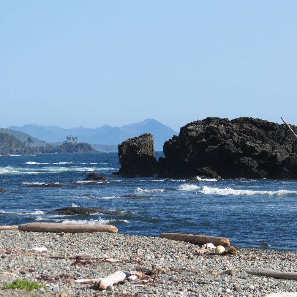 Hecht Beach, Vancouver Island, Pacific Northwest