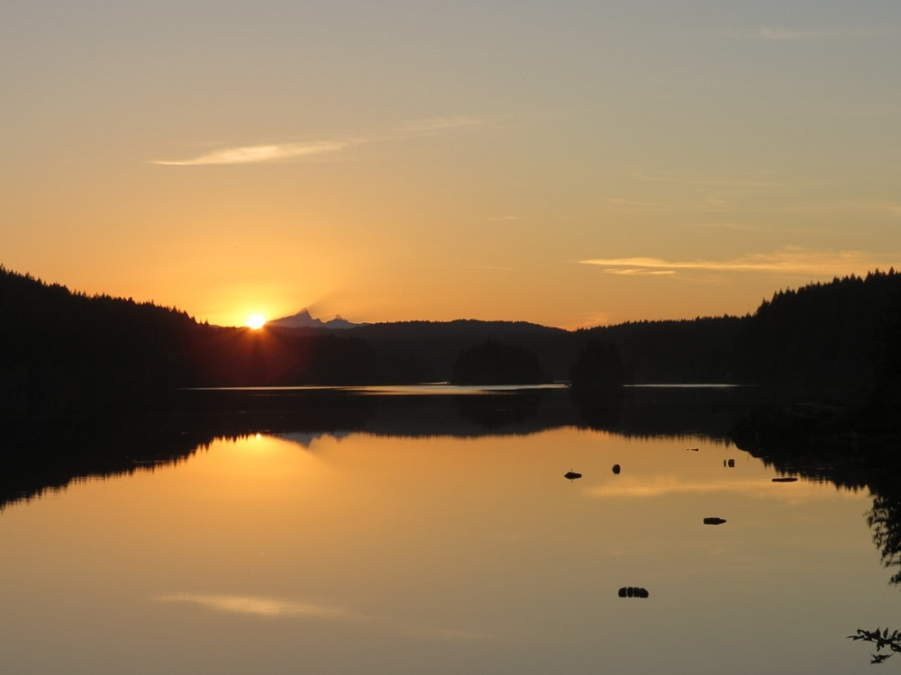 John Hart Lake, Vancouver Island, Pacific Northwest