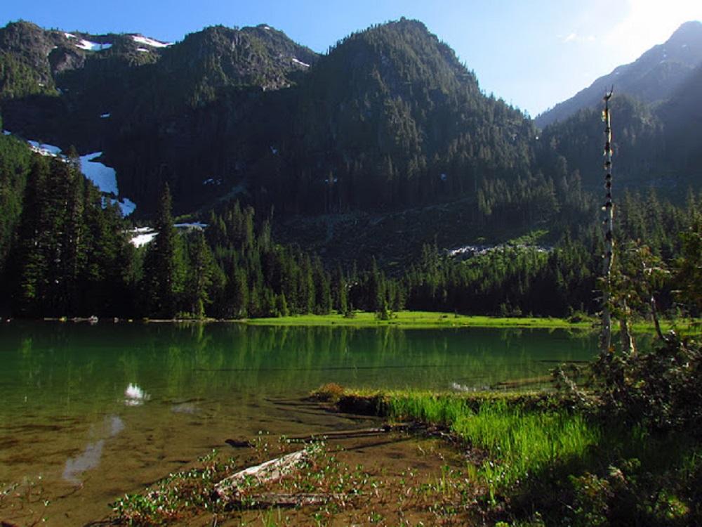 Klaklakama Lake, Vancouver Island, Pacific Northwest