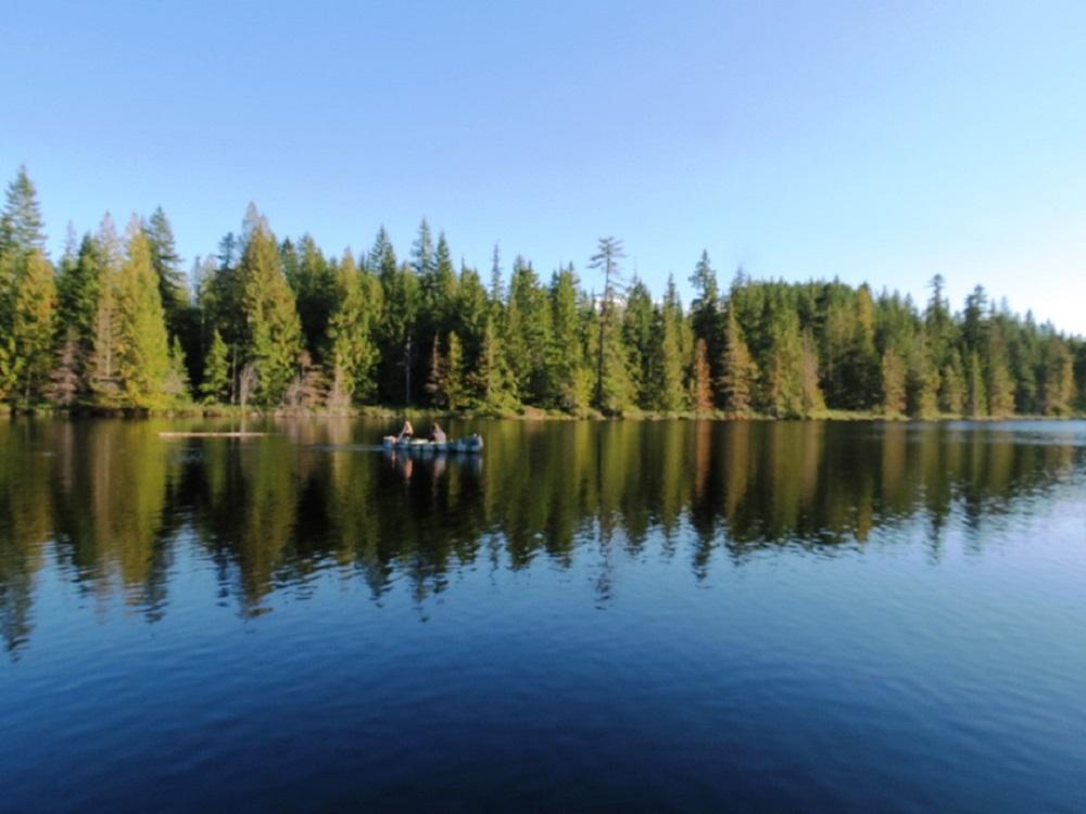 Mirror Lake, Vancouver Island, Pacific Northwest