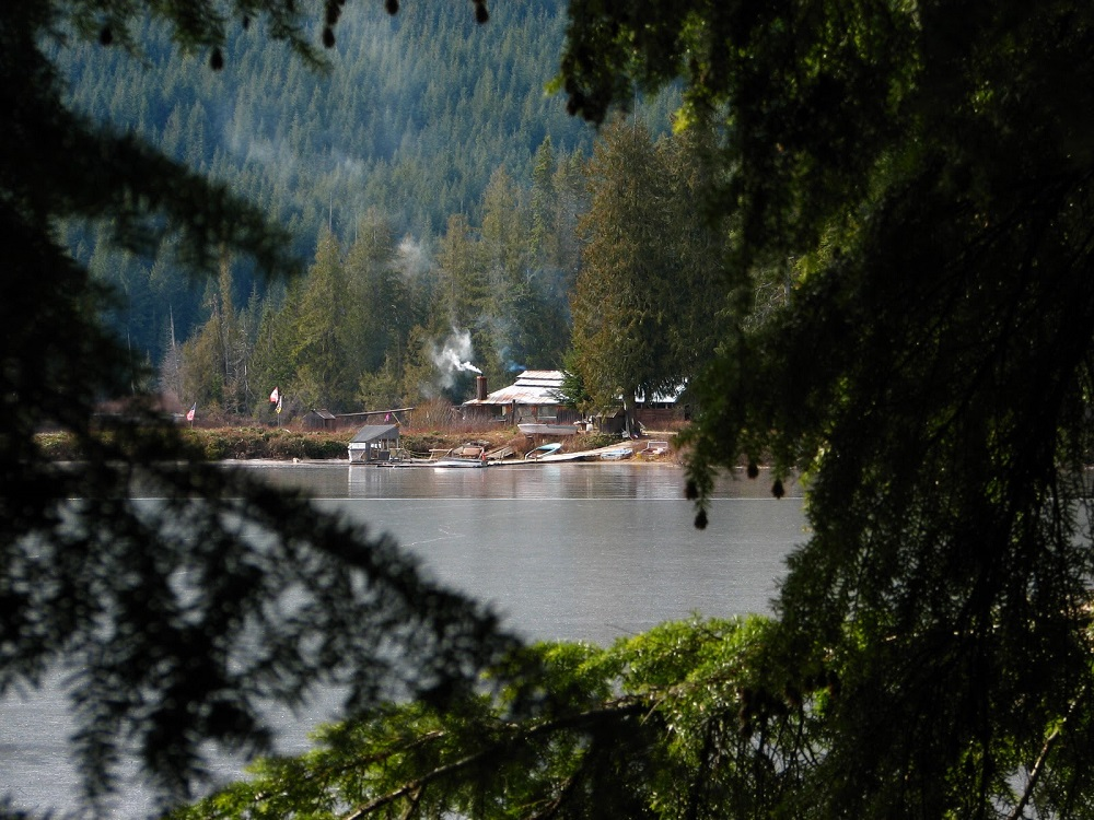 Paterson Lake, Vancouver Island, Pacific Northwest