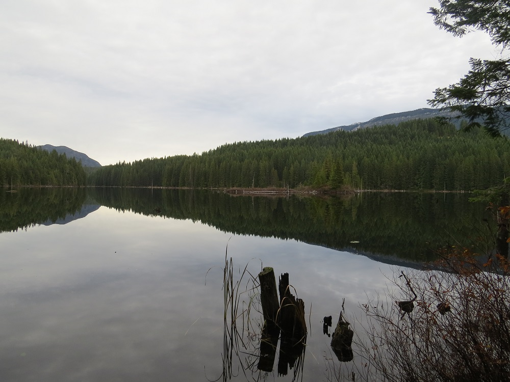 Roberts Lake, Vancouver Island, Pacific Northwest