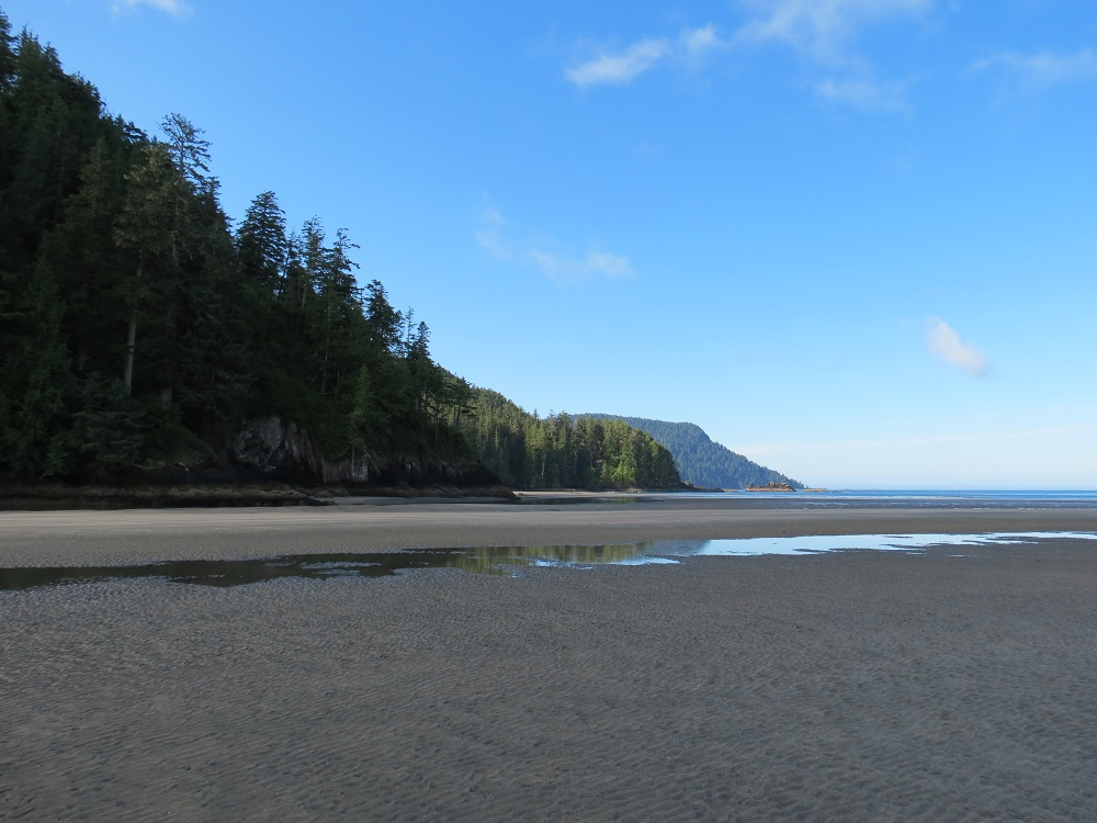 San Josef Beach, Vancouver Island, BC