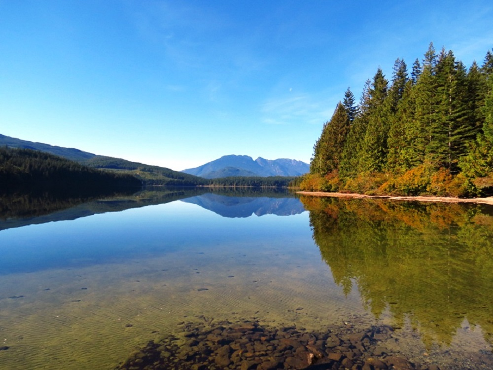 Stella Lake, Vancouver Island, Pacific Northwest