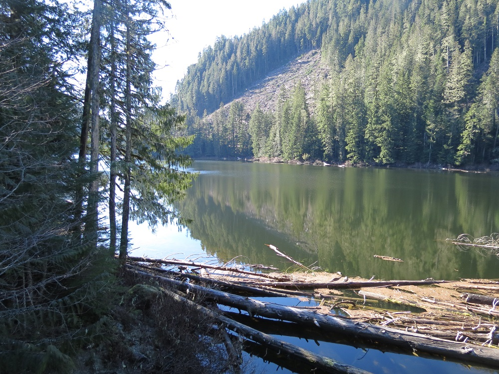 Stewart Lake, Vancouver Island, Pacific Northwest