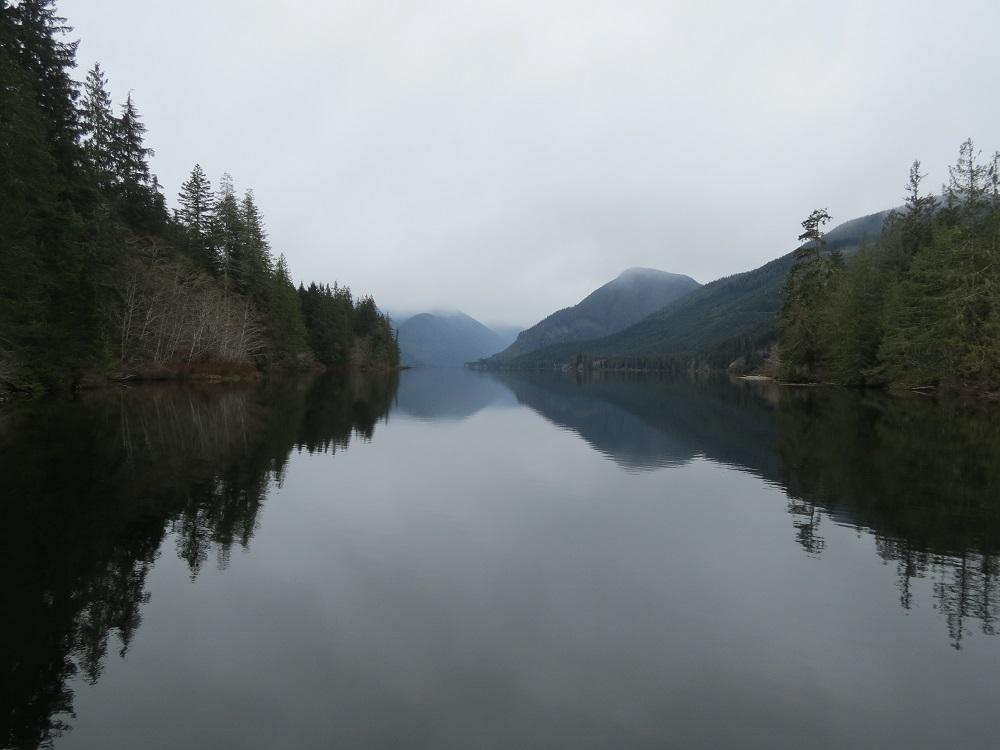Woss Lake, Vancouver Island, BC Coast, lakes