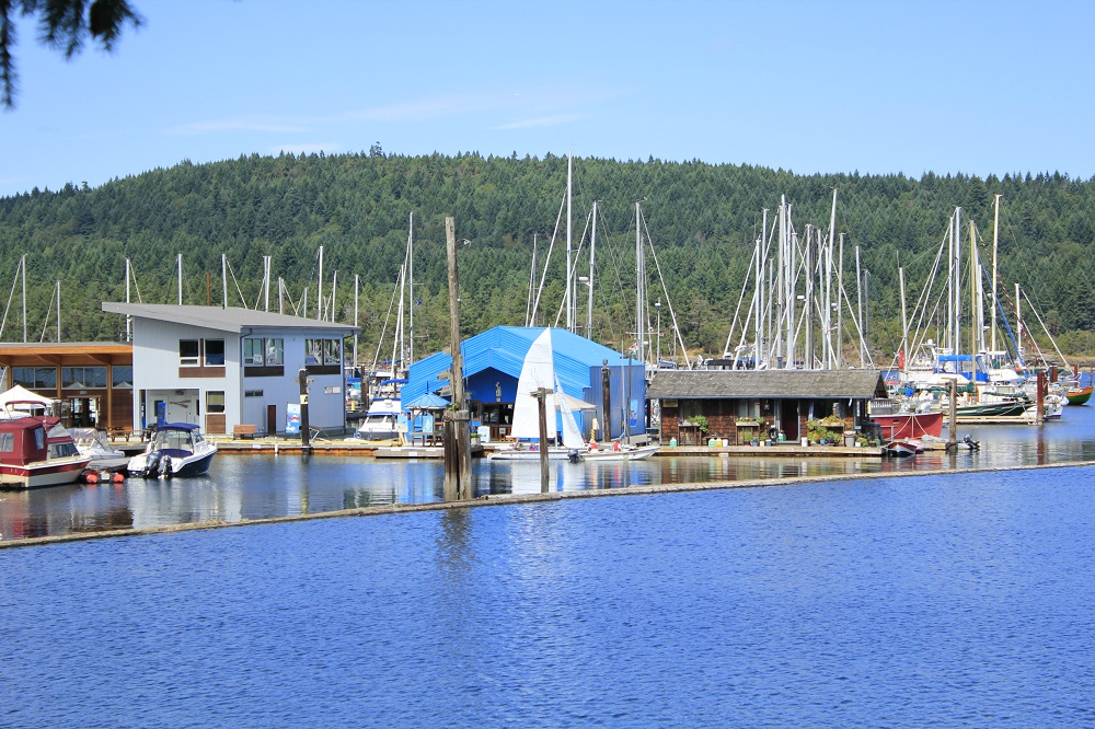 Ladysmith Harbor, Vancouver Island, Pacific Northwest