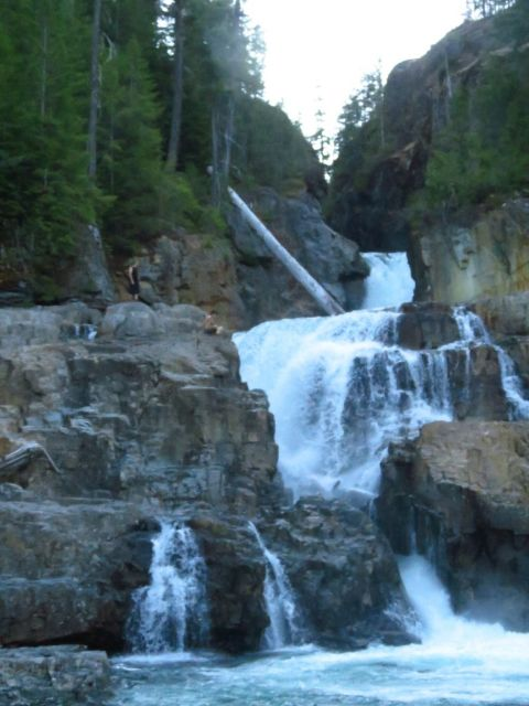 Myra Falls, Waterfalls