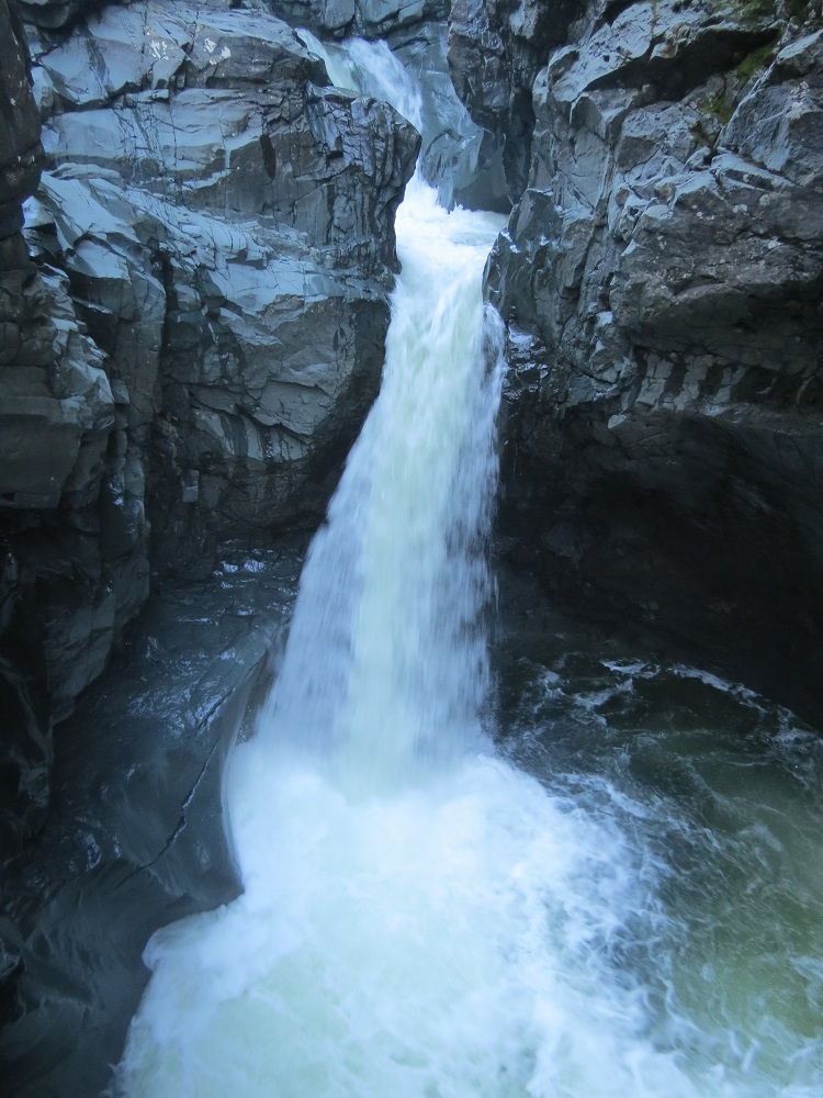 Browns River Falls, Vancouver Island, BC