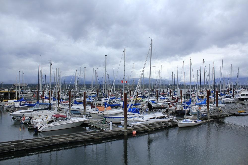 Comox Harbor, Vancouver Island, BC