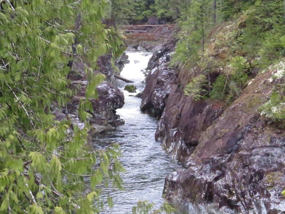 Conuma Gorge Falls, Vancouver Island, BC