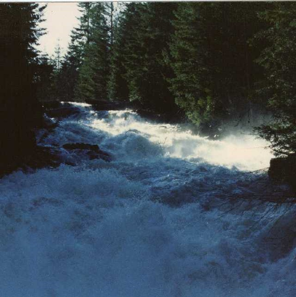 Brewster Lake Falls, Vancouver Island, Pacific Northwest