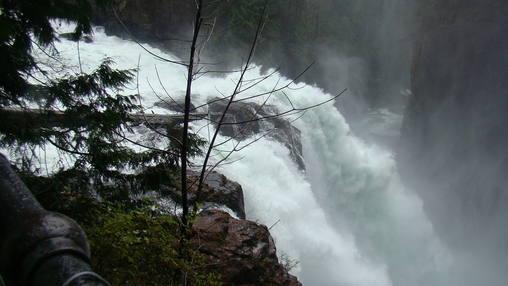 Elk Falls, Vancouver Island, Pacific Northwest