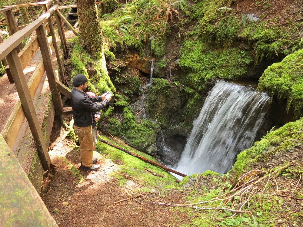 Eternal Fountain Falls, Vancouver Island, Pacific Northwest