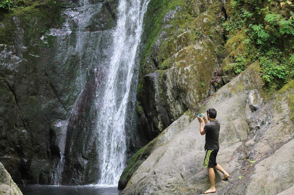 Goldstream Falls, Vancouver Island, BC