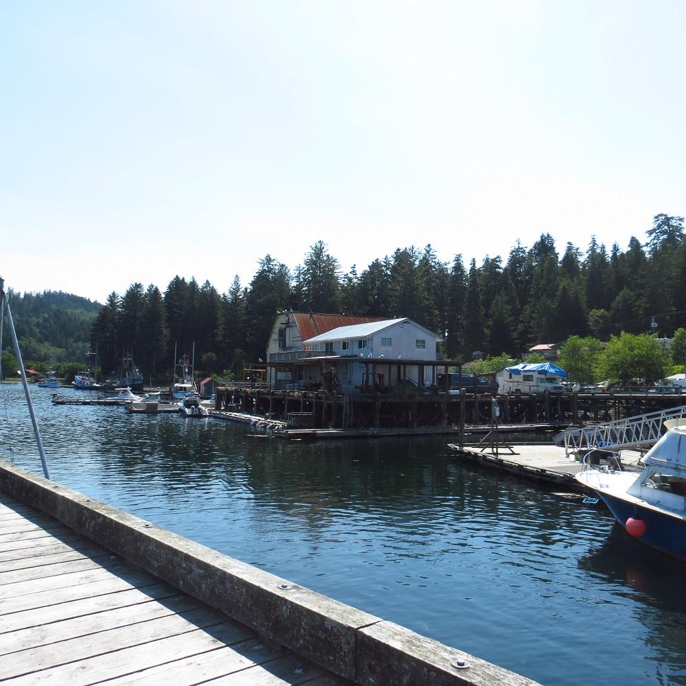Winter Harbor, Vancouver Island, BC