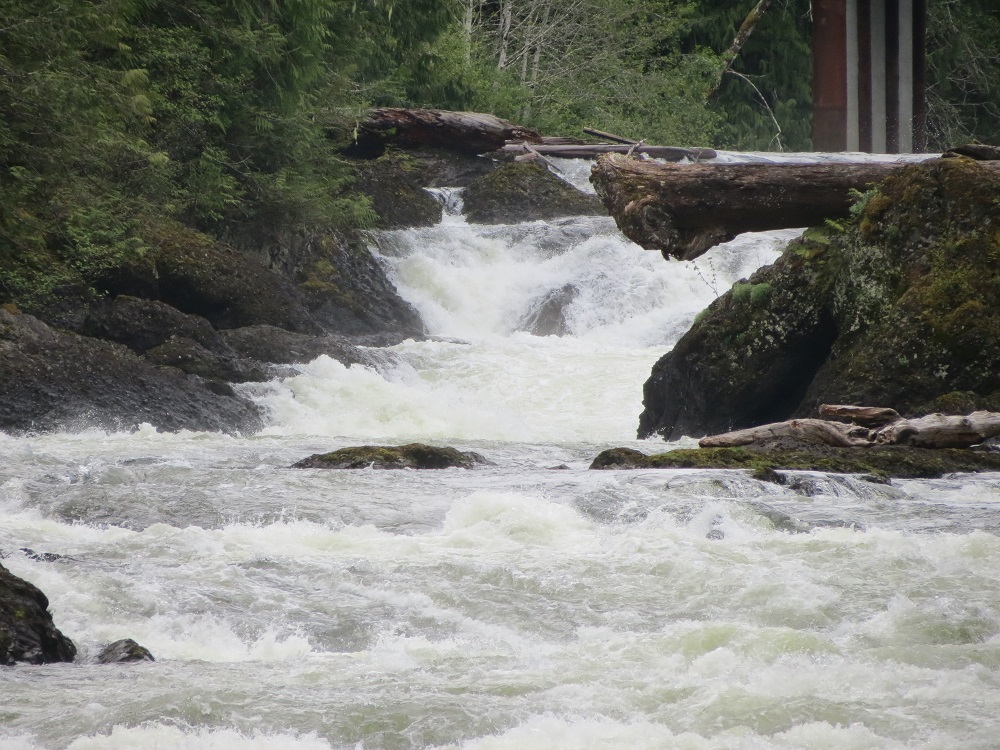 Marble River Falls, Vancouver Island, Pacific Northwest