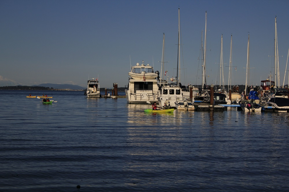 Mill Bay Harbor, Vancouver Island, Pacific Northwest,