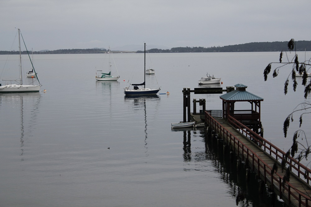 Mill Bay Harbor, Vancouver Island, Pacific Northwest