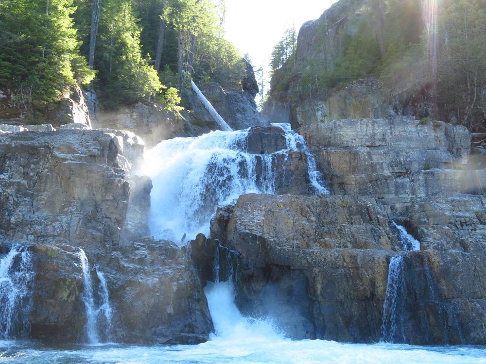 Myra Falls, Vancouver Island, BC