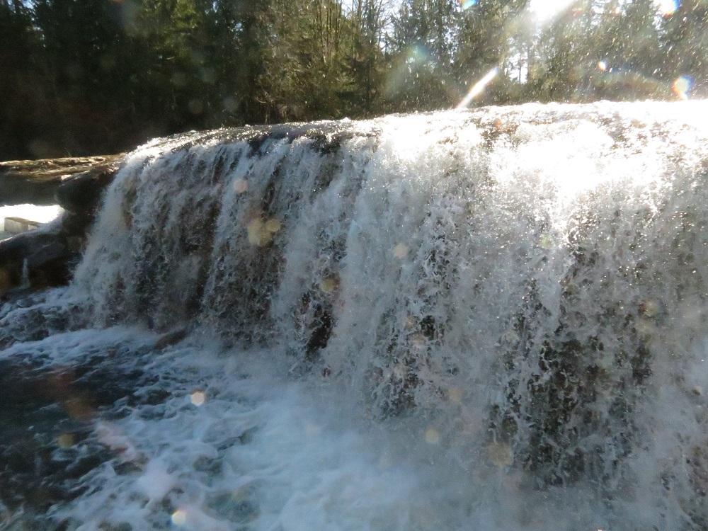 Stoton Falls, Vancouver Island, BC