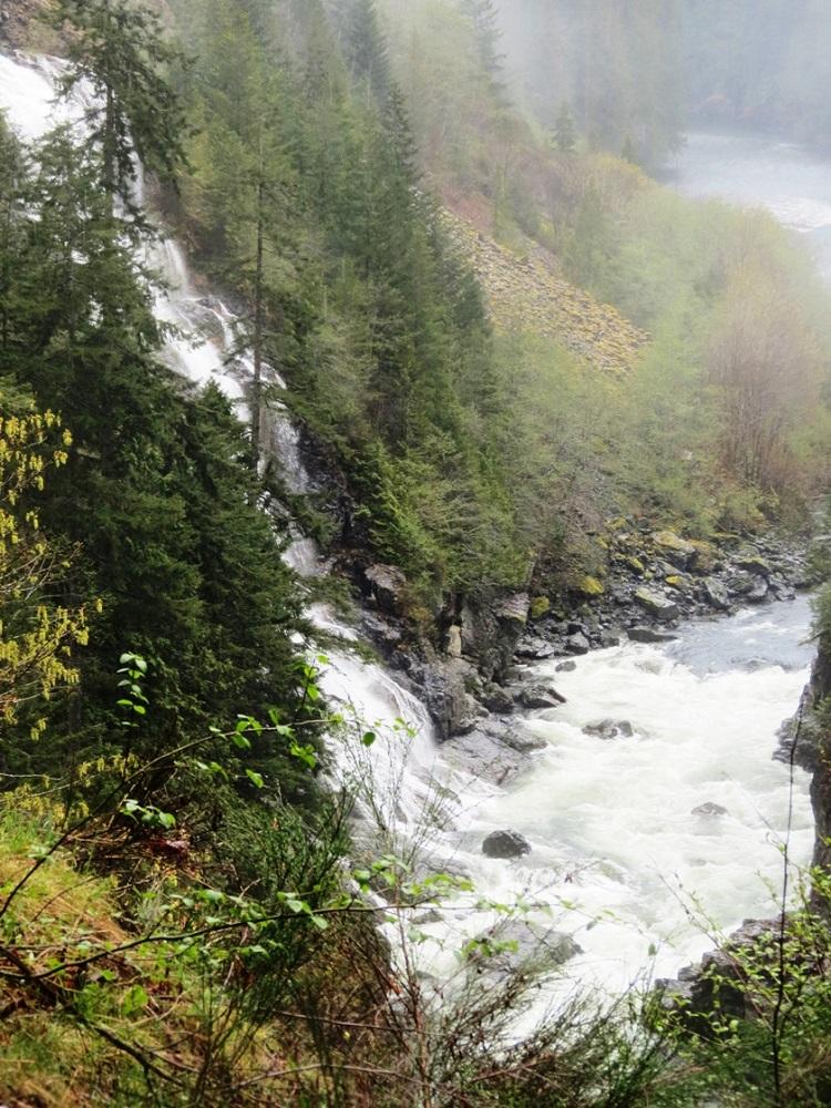 Tsuxwin Falls, Vancouver Island, Pacific Northwest