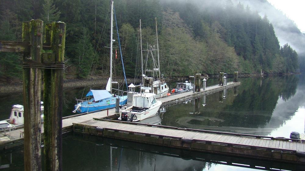 Zeballos Harbor, Vancouver Island, Pacific Northwest