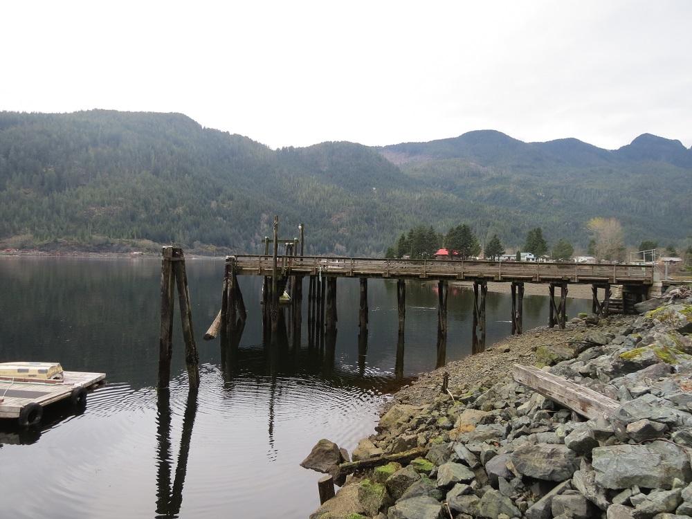 Zeballos Harbor, Vancouver Island, BC