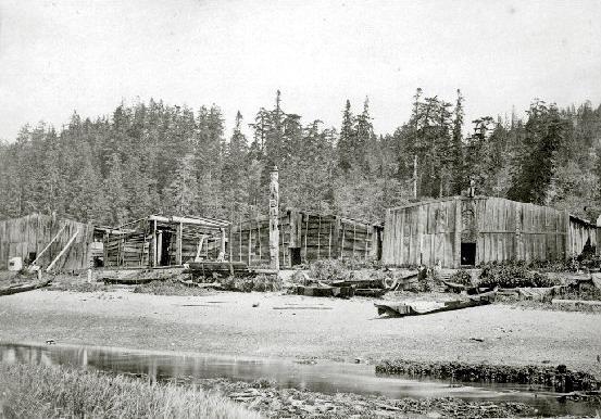 Native Village, Kelsey Bay Vancouver Island, Vancouver Island, BC Coastal Region