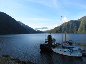 Muchalat Inlet, BC Coastal Region, Vancouver Island, Gold River Village