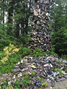 Shoe Tree, Holberg, Vancouver Island, BC Coastal Region