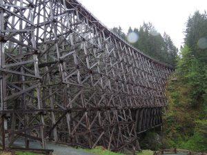 Kinsol Trestle, Mill Bay Vancouver Island, BC Coastal Region